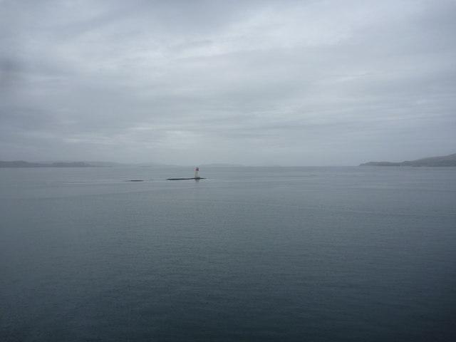 Coastal Argyll : Lady's Rock, Firth of Lorn