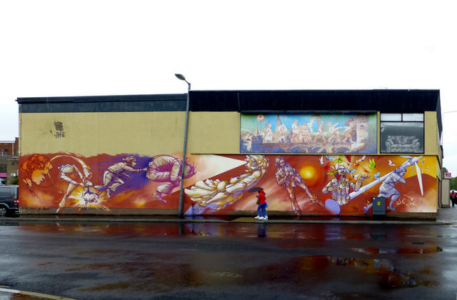 Large mural, Omagh