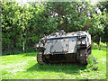 TM1793 : Tracked armoured vehicle by Evelyn Simak