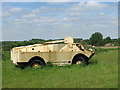 TM1793 : Armoured amphibious vehicle at the Norfolk Tank Museum by Evelyn Simak