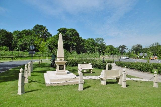 Kemnal Park, memorial