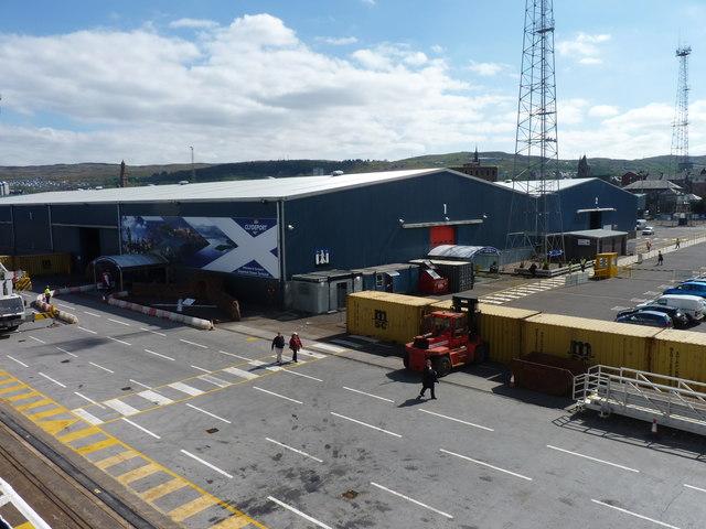 Ocean Terminal Greenock