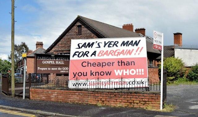 """Sam's Yer Man"", Belfast - May 2015(3)"