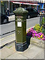 SU9676 : Penfold replica postbox, High Street, Windsor, Berkshire by Brian Robert Marshall