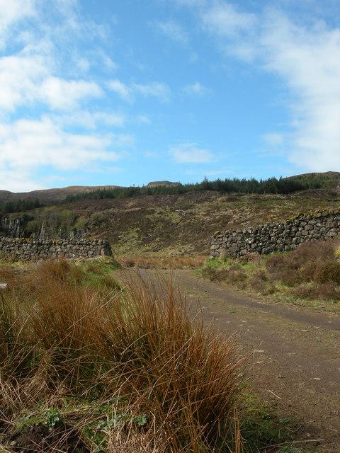 Beinn na Boineid in the distance