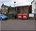 SO6613 : Biffa plastic bottle recycling bins in Littledean by Jaggery