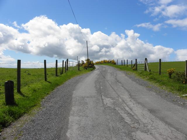 Clouds ahead, Shinnagh Road