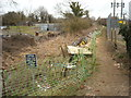 SU2387 : Towpath improvements, Wilts & Berks Canal east of Station Road Arch Bridge by Vieve Forward