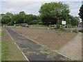 TQ0172 : Footpath diversion, Windsor Road by Stephen Craven