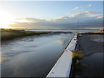TA0623 : The Quay at Barrow Haven by Jonathan Thacker