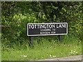 TM1080 : Tottington Lane sign by Geographer