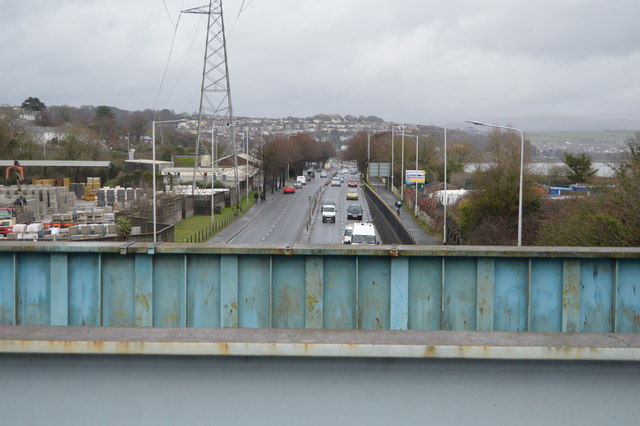 A374 out of Plymouth