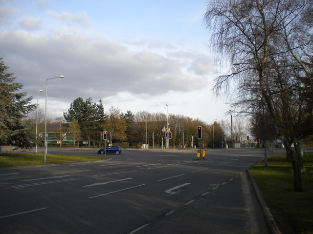 Exit from Cambridge Science Park to Milton Road
