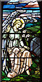 TG3613 : St Mary's church in South Walsham (stained glass) by Evelyn Simak