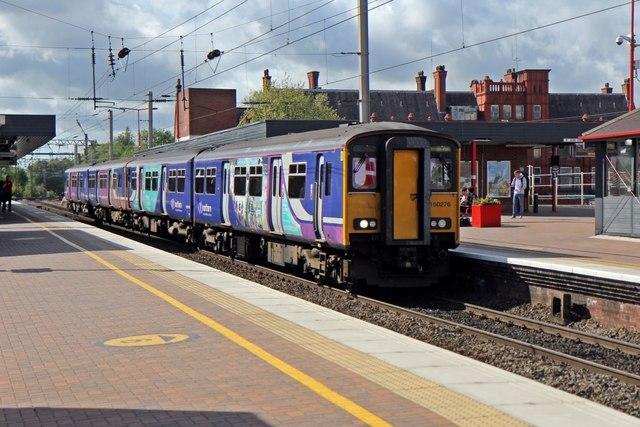 Northern Rail Class 150, 150276, Wigan North Western railway station