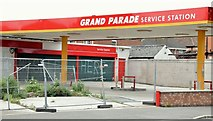 J3673 : Former petrol station, Grand Parade, Belfast (May 2015) by Albert Bridge
