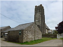 SS6243 : St Thomas, Kentisbury: late May 2015 by Basher Eyre