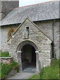 SS6243 : St Thomas, Kentisbury: porch by Basher Eyre