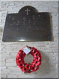 SS6243 : St Thomas, Kentisbury: memorial (c) by Basher Eyre
