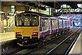 SJ8499 : Northern Rail Class 150, 150117, platform 4, Manchester Victoria railway station by El Pollock