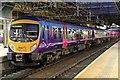 SJ8399 : First TransPennine Express Class 185, 185131, platform 4, Manchester Victoria railway station by El Pollock