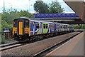 SJ8198 : Northern Rail Class 150, 150277, Salford Crescent railway station by El Pollock