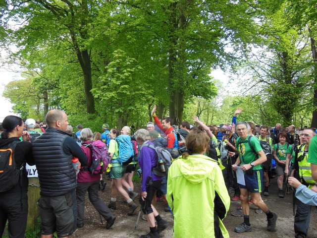 The start of the Red Rose 100