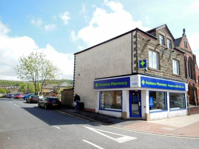 Hootons Pharmacy on Lee Lane, Horwich