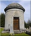 NJ6812 : Fraser mausoleum, Cluny Old Kirkyard by Bill Harrison