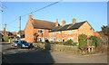 SP7419 : Old Brick Houses, Quainton by Des Blenkinsopp