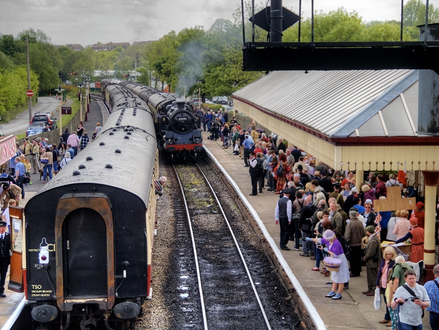 Wartime Weekend, Ramsbottom Station
