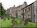 NY7146 : Graveyard of St Augustine's Church, Alston by Andrew Curtis