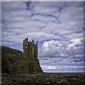 ND3561 : Old Keiss Castle 2 by Peter Moore