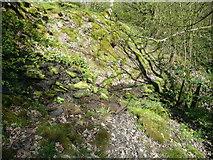 SE0722 : Stream across Sowerby bridge FP148 (3) by Humphrey Bolton