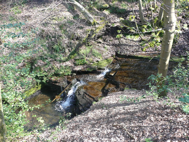 Waterfall on Maple Dean Clough, Norland