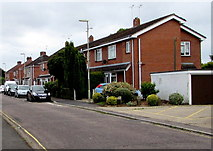 SU3521 : West side of Princes Road, Romsey by Jaggery