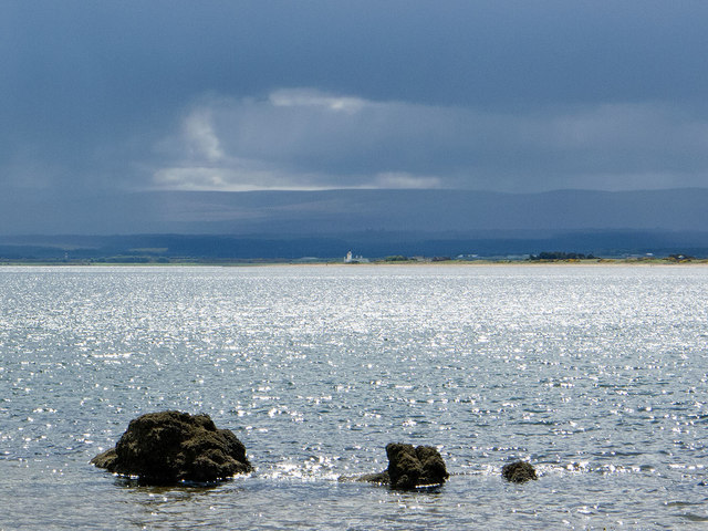 Bright interval over the Moray Firth