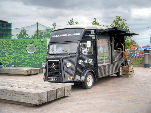 Mobile Snack Bar at Granary Square