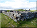 NX4736 : Ruins of the Lifeboat Station, Isle of Whithorn by Oliver Dixon