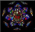 SU8504 : Traceries of the West Window, Chichester Cathedral by Julian P Guffogg