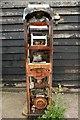 TR0161 : Derelict fuel pump, Standard Quay, Faversham by Matt Harrop