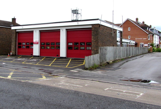 Romsey fire station and tower