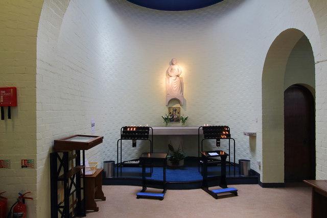 St Luke, Love Lane, Pinner - Shrine