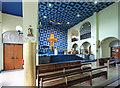 TQ1289 : St Luke, Love Lane, Pinner - Interior by John Salmon