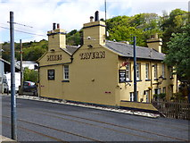 SC4384 : Laxey:  The 'Mines Tavern' by Dr Neil Clifton