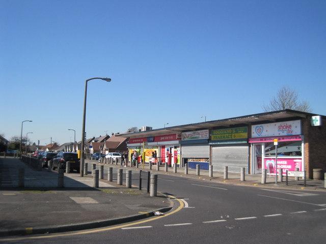 Walmesley Road Shops