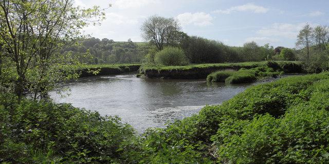 Meander in River Mole Below Former Weir