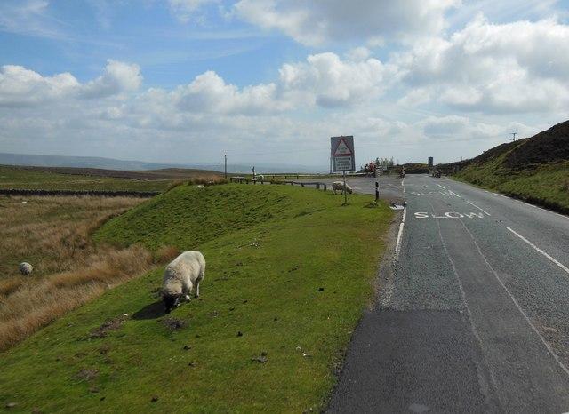 Slaidburn Road on Newton Fell