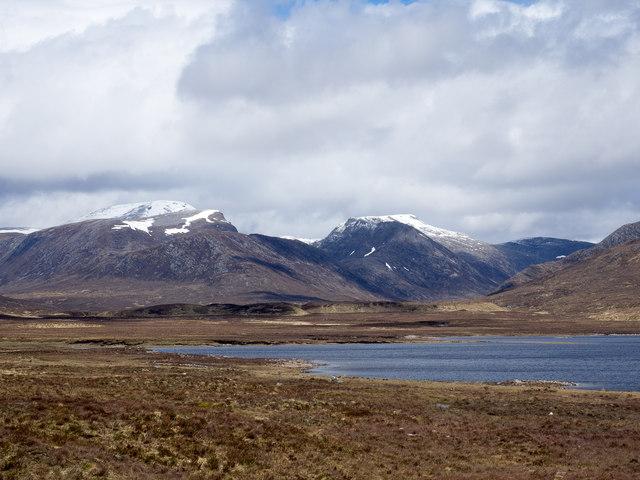 Moorland beside Loch Glascarnoch