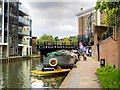 TQ2983 : Grand Union Towpath near St Pancras Way by David Dixon